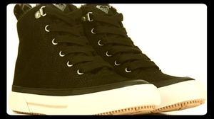 Roxy Ivan Fur Hightop Sneakers
